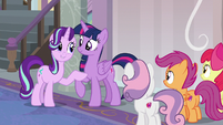 Starlight Glimmer throws a lot of hints S8E12