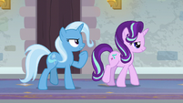 "Trixie ""we're striding with determination"" S9E20"