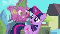 Twilight 'Not a claw Spike' S3E2