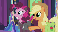 Applejack -just stoppin' in to wish y'all- S5E20