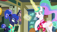 """Celestia """"just going to give this to me"""" S9E13"""