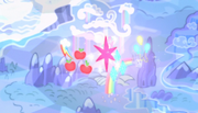 Cutie marks floating over Ponyville S5E1.png
