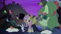 Fluttershy --we could celebrate Nightmare Night-- S5E21