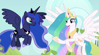 Princess Celestia -we've recently realized- S9E13