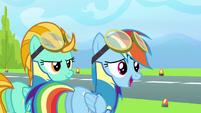 Rainbow 'No pony even came close to six seconds' S3E07