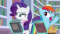 "Rainbow Dash exasperated ""fine!"" S8E17"
