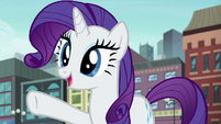 Rarity --I know exactly what you should do!-- S6E3
