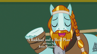 Rockhoof thanking the students S8E21