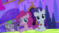 Spike, Pinkie and Rarity S2E25