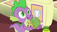 """Spike """"I take it Flurry named it?"""" S7E3"""
