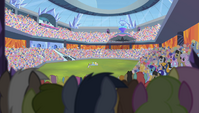 Stadium field distance shot S4E24