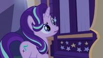 Starlight Glimmer hears Trixie's weird sleeptalk S6E25