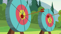 Campers' plunger arrows hit the targets S7E21