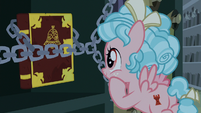 Cozy Glow discovers book about magic bells S9E17