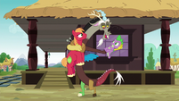 """Discord """"you get to bask in my greatness"""" S6E17"""