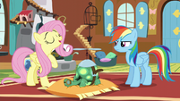 """Fluttershy """"just like sleeping is healthy for us"""" S5E5"""