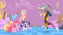 Main ponies Discord Annoyance2 S2E2