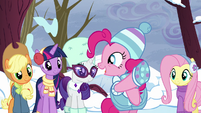 """Pinkie Pie """"she's using the word!"""" S5E5"""