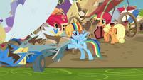 """Rainbow Dash """"it still counts as a win"""" S6E14"""