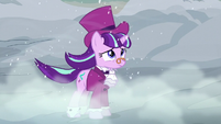 Snowfalls hears the Spirit of Hearth's Warming Yet To Come S06E08