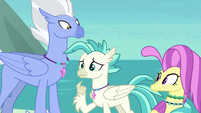 Terramar looking confused at the CMC S8E6