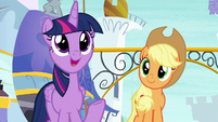 """Twilight """"happy to find a new drill sergeant"""" S8E21"""