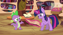 """Twilight and Spike """"just cast a counter spell"""" S03E13"""