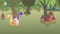 "Applejack ""harvestin' time"" S1E04"