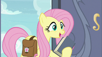 """Fluttershy """"I just stopped by to thank you"""" S9E21"""