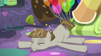 Mudbriar disoriented on the cave floor S8E3