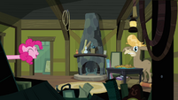 Pinkie Pie pops in on Cranky Doodle again S02E18