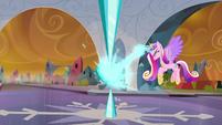 Princess Cadance reactivates the Crystal Heart S9E1