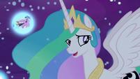 "Princess Celestia ""shouldn't be too hard"" S7E10"