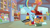 Rainbow lifts Quibble out of his funk S9E6