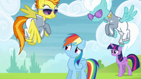 Spitfire and Fleetfoot give Rainbow time to think S4E10