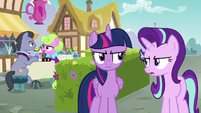 Starlight Glimmer -chat with these two- S7E14