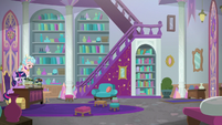 Twilight and Cozy in Twilight's office S8E25