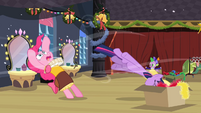 Twilight and Fluttershy in the box S02E11