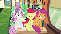 "Apple Bloom ""we're grown-up ponies now!"" S9E22"