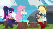 """Applejack """"get your own chicken coop!"""" EGSBP"""