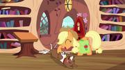 Applejack petting Winona S03E11.png