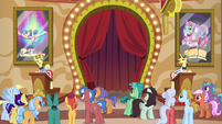 Flim advertising his own tickets S6E20