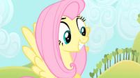 Fluttershy smiling S4E07