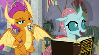 Ocellus notices the Helm of Yickslur S8E15