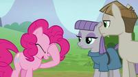 Pinkie Pie feeling embarrassed S8E3