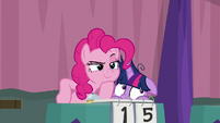 Pinkie Pie looking confident S9E16