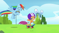 """Rainbow """"I shouldn't have snapped at my parents!"""" S7E7"""