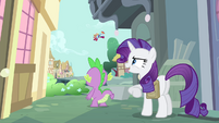 "Rarity ""cloud-busting with style!"" S4E23"
