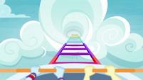 Rollercoaster climbs higher and higher EGROF