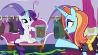 Sassy Saddles -I'm sure she'd love that- S7E6
